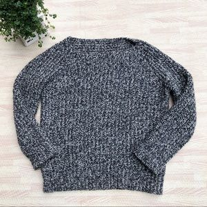Vince Chunky Wool & Cashmere Boatneck Sweater